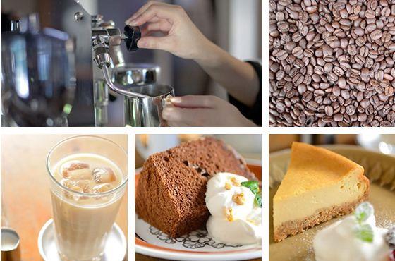 cafe2345の珈琲とデザート